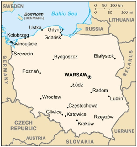 Embassy Of India Warsaw Poland And Lithuania Fact Sheet Of Poland