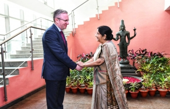 Visit of H.E. Krzysztof Szczerski, Secretary of State and Chief of the Cabinet of the President of the Republic of Poland  to India January 2019