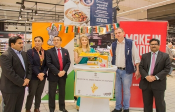 Indian Mango festival launched in Poland May 17, 2019