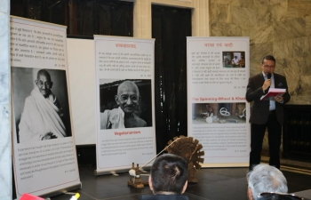 Vegetarian Food Festival in Warsaw, Poland propounded Gandhijis thoughts on Vegetarianism 28th March 2019