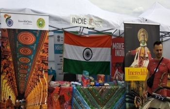 Embassy of India participated in the embassy Festival 13 May 2019