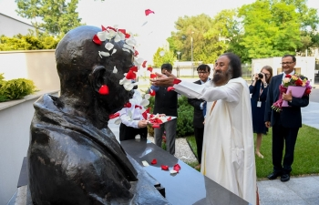 Visit of Sri Sri Ravi Shankar 11th June 2019