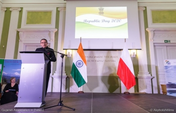 On Friday 24th January, Ambassador hosted a reception to mark the 71st Republic Day of India at the Central Agricultural Library. Mr. Marcin Przydacz, Deputy Minister of Foreign Affairs of Poland was the Chief Guest on the occasion. The reception was attended by senior Government officials, members of the Diplomatic Corps and the Association of Poles in India among others.