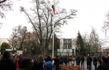 On the occasion of the 71st Republic Day of India, H.E. Ambassador Tsewang Namgyal hoisted the National Flag at the Embassy of India which was attended by members of the Indian Community in Poland. Ambassador read out the address of Honble President of India to the Nation on the eve of the Republic Day of India.