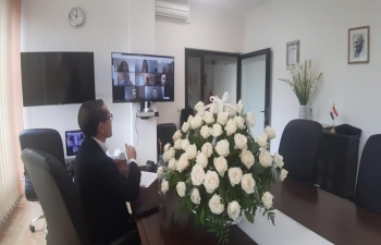 On the occasion of Teachers Day Ambassador Tsewang Namgyal had a virtual interaction with Indian academicians and teachers working in Poland.
